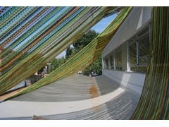 Frangisole / Tela metallica e tessuto metallico per facciataCLADDING EXTERIOR SCHOOL - KRISKADECOR