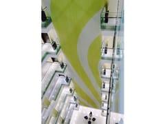 Tenda a cascata in catene di alluminioCLADDING INTERIOR HOTEL - KRISKADECOR