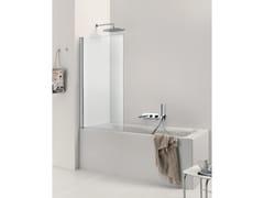Parete per vasca in vetro CLAIRE DESIGN - 1 | Parete per vasca - Claire design