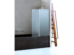 Parete per vasca pieghevole in vetro CLAIRE DESIGN - 3 | Parete per vasca - Claire design