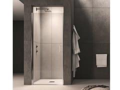 Box doccia a nicchia in vetro con porta a battente CLAIRE DESIGN - 5 - Claire design