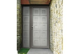 Porta d'ingresso in alluminioCLARTÉ – triplo vetro 47 mm - LIEBOT ITALIA