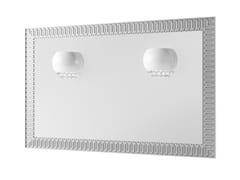 DWFI, CLARUS Specchio con illuminazione integrata da parete per bagno