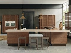 Cucina componibile con isola CLASS LINE | Cucina in frassino -