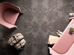 Tappeto in lana CLASSIC DAMASK -