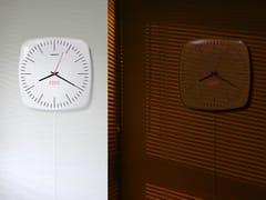 Orologio in ABS da pareteCLASSIC DUET - KIBARDIN DESIGN