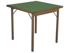 Tavolo da gioco quadrato in legnoCLASSIC - FRATELLI DEL FABBRO