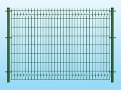 Recinzione modulare in rete elettrosaldataCLASSIC VERDE - FERRO BULLONI ITALIA