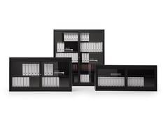 Mobile ufficio con ante scorrevoli in vetroCLASSIC   Mobile ufficio - FANTIN