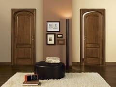 Porta in legno massello con battente centinato CLASSICI E ANTICATI - Classici e anticati