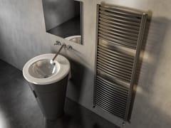Scaldasalviette ad acqua calda verticale in acciaio al carbonioCLAUDIA® CURVED - CORDIVARI