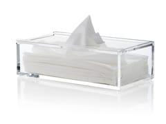 Porta fazzoletti in acrilicoCLEAR TISSUE BOX - NOMESS COPENHAGEN