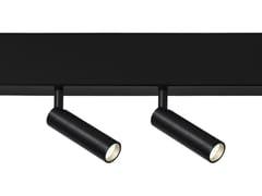 Faretto a LED orientabile in alluminio CLICK FOCUS 25 - Click System