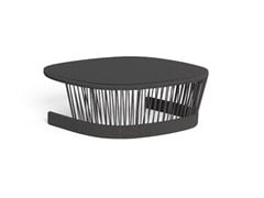 Tavolino basso da giardino quadratoCLIFF | Tavolino - TALENTI