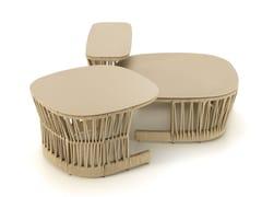 Tavolino basso da giardino quadratoCLIFF   Tavolino - TALENTI