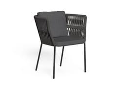 Sedia da giardino in cordaCLIFF | Sedia da giardino - TALENTI