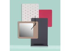 Orologio da parete con contenitore e specchioCLOCK   Orologio da parete con specchio - L'ALBERO PROGETTI