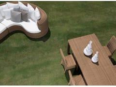 Tavolo da giardino rettangolareCLOE | Tavolo rettangolare - BRAID COMPANY