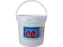 Tricloro per piscina pastiglie kg. 10CLORO TRIPLA AZIONE 200GR - PISCINA SEMPLICE C/O LAPI CHIMICI