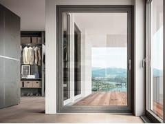Porta-finestra a battente in alluminio e legnoCLOUD LA - BG LEGNO