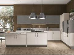 Cucina componibile in legno impiallacciato CLOVER BRIDGE 2 - Clover