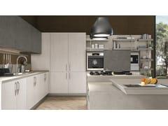 Cucina componibile in legno impiallacciatoCLOVER BRIDGE 2 - CUCINE LUBE
