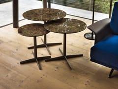 Tavolino rotondo in marmo CLUB | Tavolino in marmo - Complementi