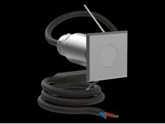 Faretto per esterno a LED da parete in acciaio da incassoCNC25 Q - LOMBARDO