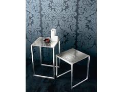 Tavolino quadrato in alluminioCND 45 - CASAMILANO