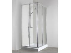 Box doccia angolare con porta scorrevoleCO-ASCR + CO-ASCR - TDA