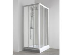 Box doccia angolare con porta scorrevoleCO-ASCT + CO-ASCT - TDA