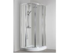 Box doccia semicircolare con porta scorrevoleCO-T38E - TDA