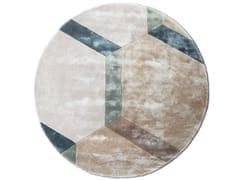 Tappeto rotondo a motivi geometriciCOBBLESTONE - G.T.DESIGN