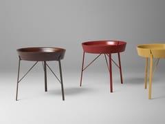 Tavolino rotondo in legno con vassoioCOCOON - ALIVAR