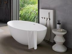 COCOON, COCOON ATLANTIS Vasca da bagno centro stanza in Solid Surface