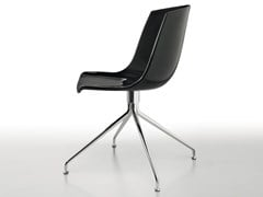 Sedia ergonomica girevole laccata in metallo e poliuretanoCOCOON   Sedia - BBB