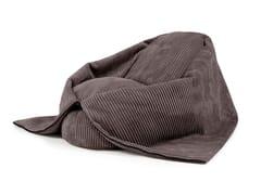 Poltrona a sacco per bambini imbottita in tessutoCOCOON WAVE - PUSKU PUSKU
