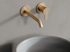 Rubinetto per lavabo a muro monocomando CODE | Rubinetto per lavabo a muro - Code