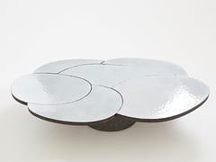 Tavolino in pietra lavica da salotto COFFEE TABLE WHITE - Etna Stone Table