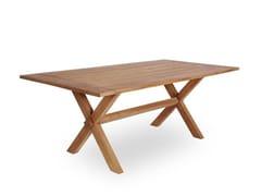 Tavolo da giardino rettangolare in teakCOLONIAL TABLE - SIKA-DESIGN