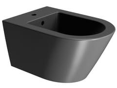 Bidet sospeso in ceramicaCOLOR ELEMENTS 55X36 | Bidet - GSI CERAMICA