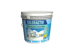 Pittura silossanica fotocatalitica autopulenteCOLORACTIV - INDEX