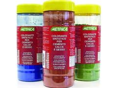 METRICA, COLORANTI SINTETICI PER USO INTERNO/ESTERNO Colorante sintetico