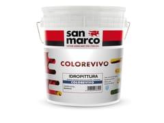 Idropittura superlavabileCOLOREVIVO - COLORIFICIO SAN MARCO