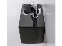 Lavamani rettangolare sospeso in ceramicaCOLORS | Lavamani - SCARABEO CERAMICHE