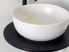 Lavabo da appoggio rotondo in ceramicaCOLORS | Lavabo rotondo - SCARABEO CERAMICHE