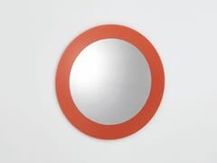 Specchio a parete rotondo o ovale con cornice COLOURS   Specchio rotondo -