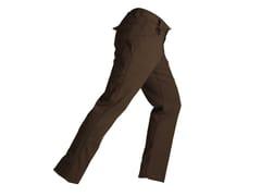 Pantalone elasticizzato slimCOMFORT MARRONE - KAPRIOL