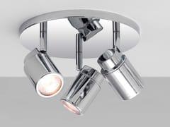Faretto multiplo orientabile in acciaio a soffittoCOMO | Faretto a soffitto - ASTRO LIGHTING