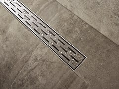 ESS Easy Drain, COMPACT FF Scarico per doccia in acciaio inox